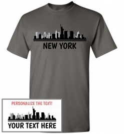 New York, NY Skyline T-Shirt