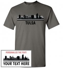 Tulsa, OK Skyline T-Shirt