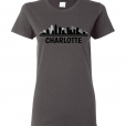Charlotte, NC Skyline T-Shirt