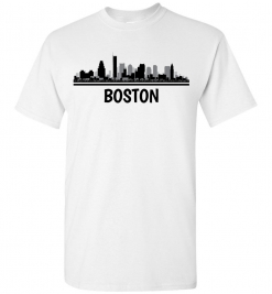 Boston, MA Skyline T-Shirt
