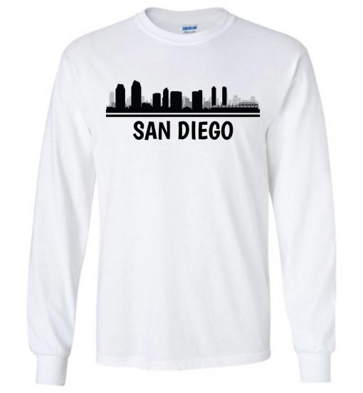 San Diego, CA Skyline T-Shirt