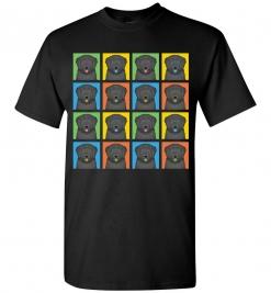Black Russian Terrier Dog T-Shirt