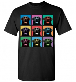 Labrador Retriever Pop-Art T-Shirt