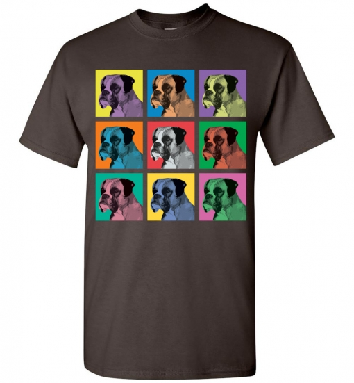 Boxer Pop-Art T-Shirt