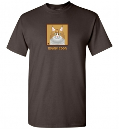 Maine Coon Cat T-Shirt / Tee