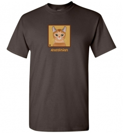 Abyssinian Cat T-Shirt / Tee