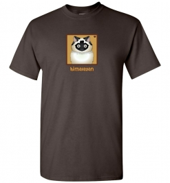 Himalayan Cat T-Shirt / Tee (Seal-Point)