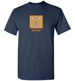 Burmese Cat T-Shirt / Tee