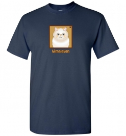 Himalayan Cat T-Shirt / Tee (Cream)