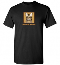 California Spangled Cat T-Shirt / Tee