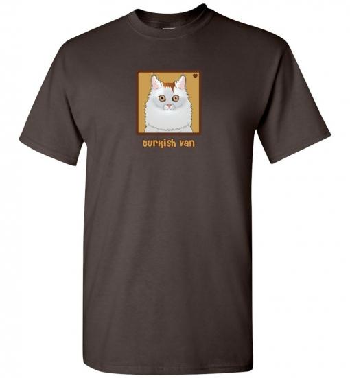 Turkish Van Cat T-Shirt / Tee