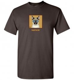 Balinese Cat T-Shirt / Tee