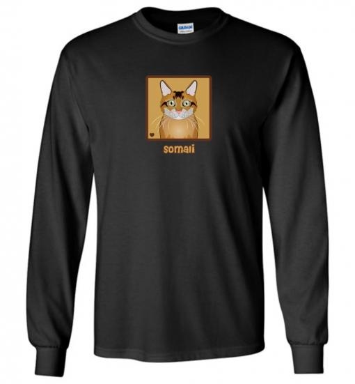 Somali Cat T-Shirt / Tee