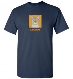 Singapura Cat T-Shirt / Tee