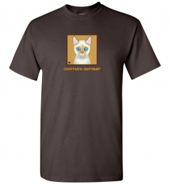 Colorpoint Shorthair Cat T-Shirt / Tee