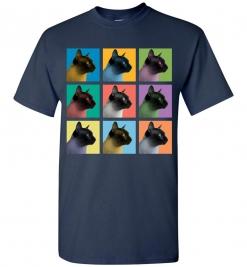 Siamese Cat Pop-Art T-Shirt / Tee