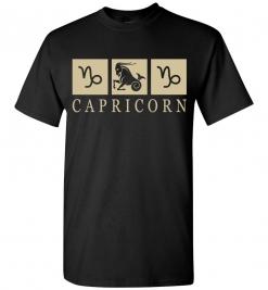 Capricorn Zodiac T-Shirt / Tee