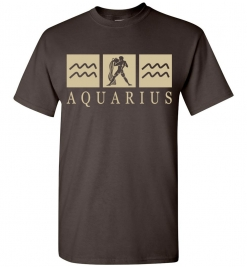 Aquarius Zodiac T-Shirt / Tee