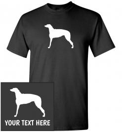 Scottish Deerhound Custom T-Shirt