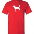 American Foxhound Silhouette Custom T-Shirt