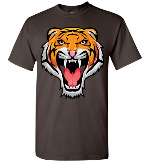 Tiger Head T-Shirt / Tee