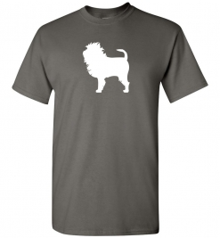 Affenpinscher Silhouette Custom T-Shirt