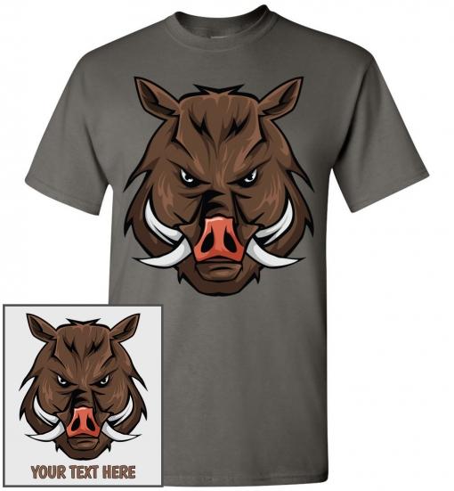 Wild Hog Head T-Shirt
