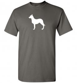 Australian Kelpie Silhouette Custom T-Shirt
