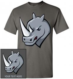 Angry Rhinoceros T-Shirt / Tee