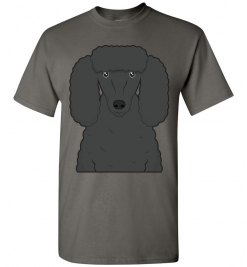 Black Poodle Dog T-Shirt