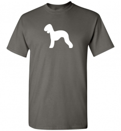 Bedlington Terrier Silhouette Custom T-Shirt