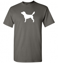Beagle Silhouette Custom T-Shirt