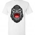 Gorilla Head T-Shirt / Tee