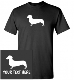 Dachshund Custom T-Shirt
