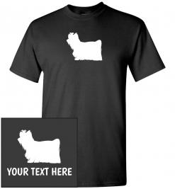 Yorkshire Terrier Custom T-Shirt