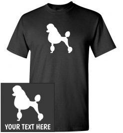 Poodle Custom T-Shirt