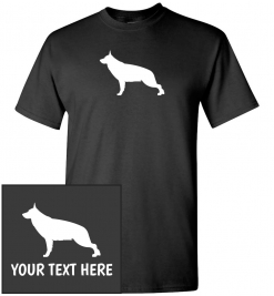 German Shepherd Custom T-Shirt