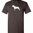 American Staffordshire Terrier Silhouette Custom T-Shirt
