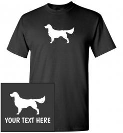 Golden Retriever Custom T-Shirt