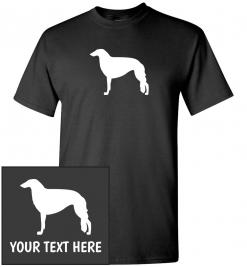 Russian Greyhound / Borzoi Custom T-Shirt