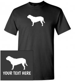 Dogue De Bordeaux Custom T-Shirt