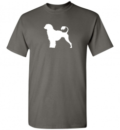 Portuguese Water Dog Custom T-Shirt