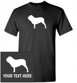 Neapolitan Mastiff Custom T-Shirt