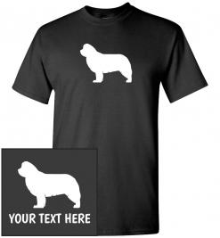 Newfoundland Dog Custom T-Shirt