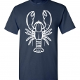 Lobster Silhouette Custom T-Shirt / Tee