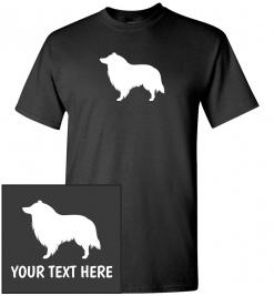 Collie Custom T-Shirt