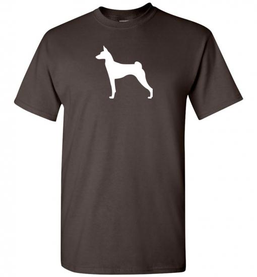 Basenji Silhouette Custom T-Shirt