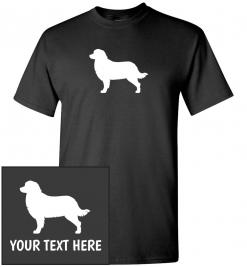 Bernese Mountain Dog Custom T-Shirt