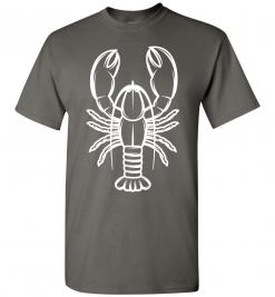 Lobster Silhouette Custom T-Shirt / Tee