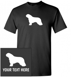 Spanish Water Dog Custom T-Shirt